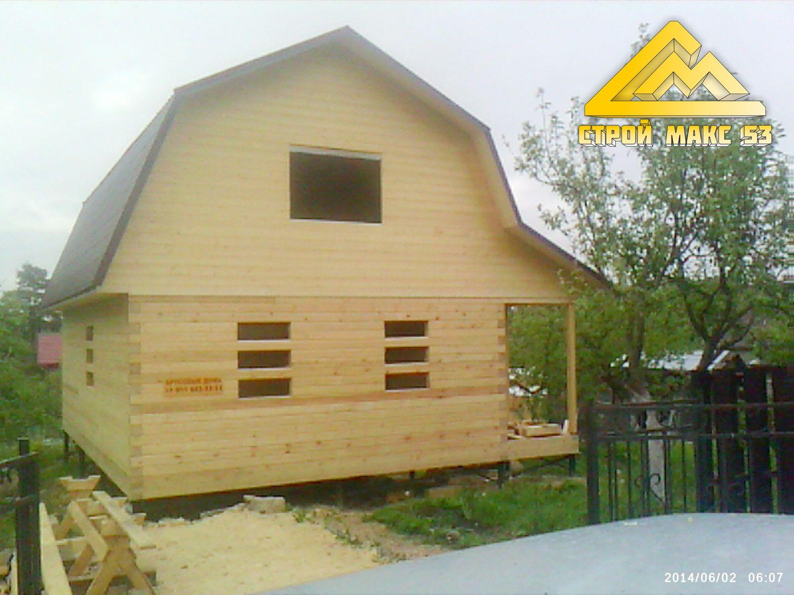 дом по проекту 20-Б