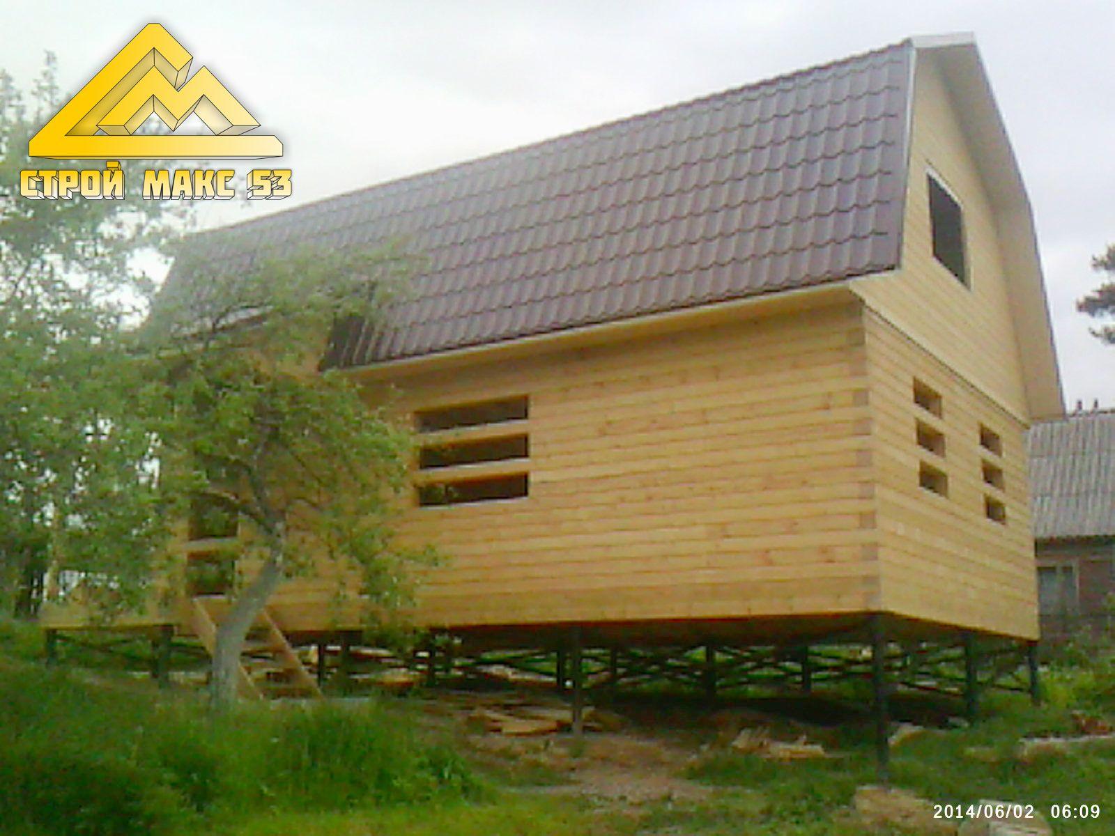 закончено строительство загородного дома