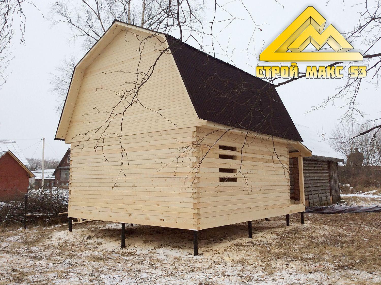 дом из бруса по нашему проекту