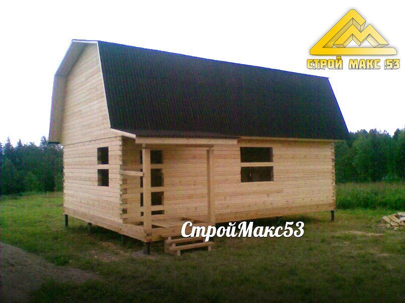 дом из бруса в Псковской области