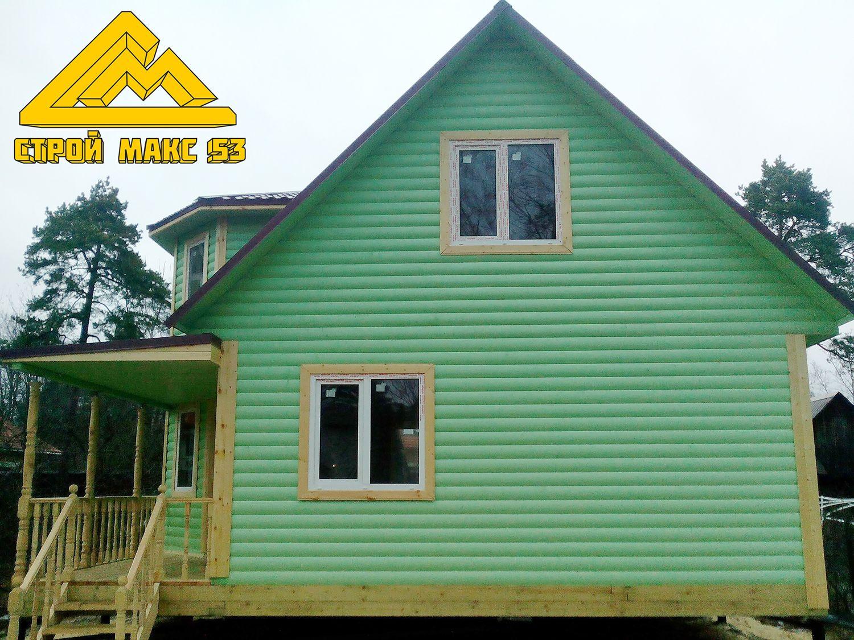 дом по проекту №44-Б