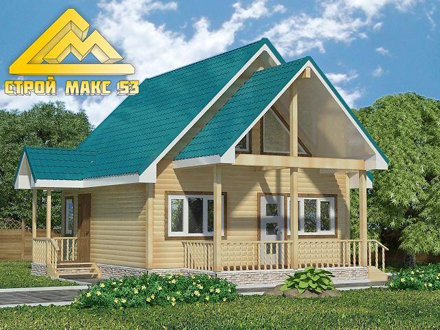 Наш новый проект деревянного дома