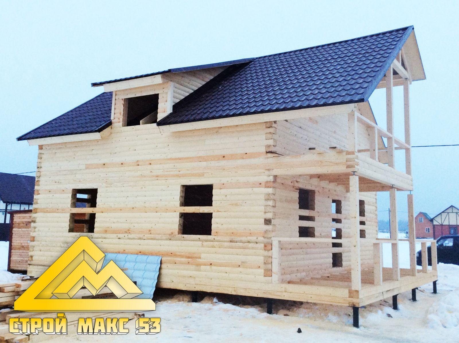 дом под усадку по индивидуальному проекту