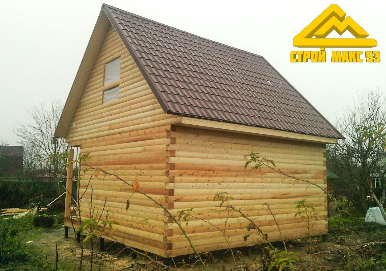 дом из бруса в деревне Заклинское