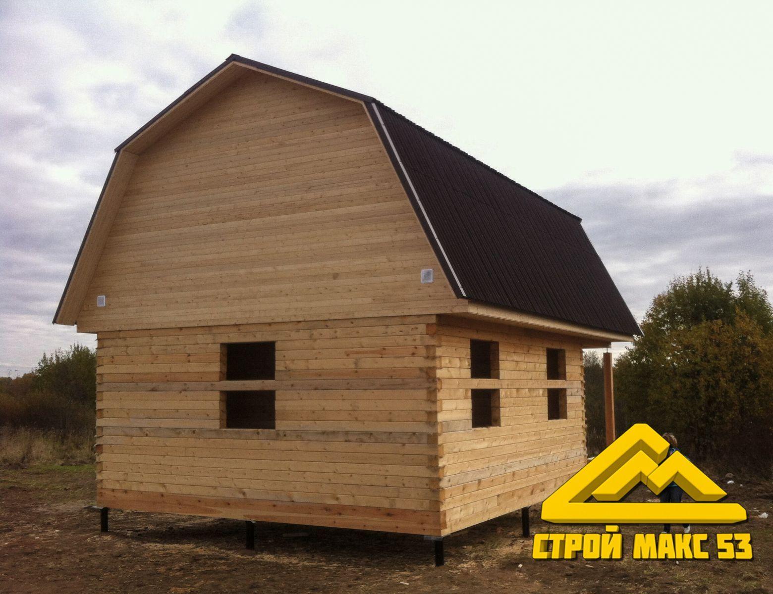 каркасный дом по индивидуальному проекту