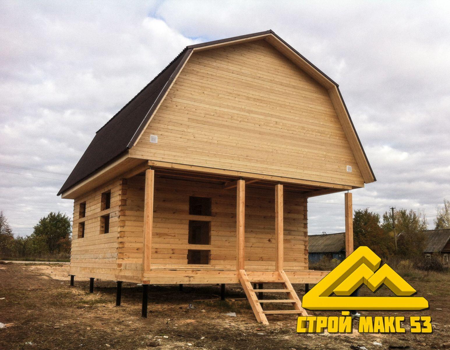 каркасный дом под ключ  Шимск
