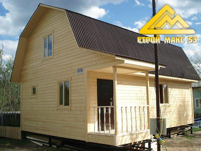 дом по каркасной технологии в Твери