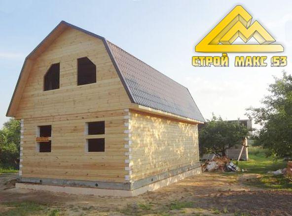 Индивидуальный проект дома под усадку