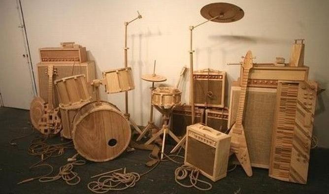 музыкальные инструменты из дерева