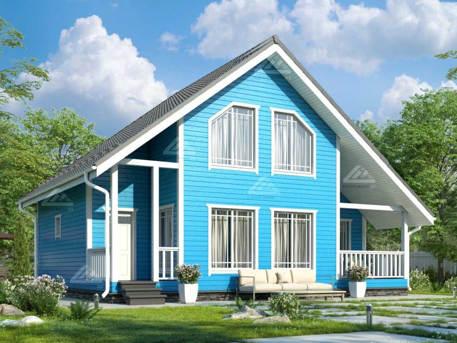 финский каркасный дом проект и цена