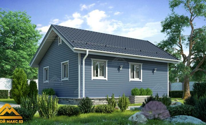 одноэтажный финский дом под ключ