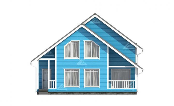 изображение финского каркасного дома под ключ цены вид спереди