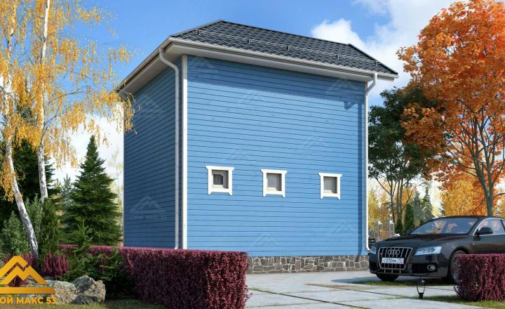 финский дом с мансардой под ключ