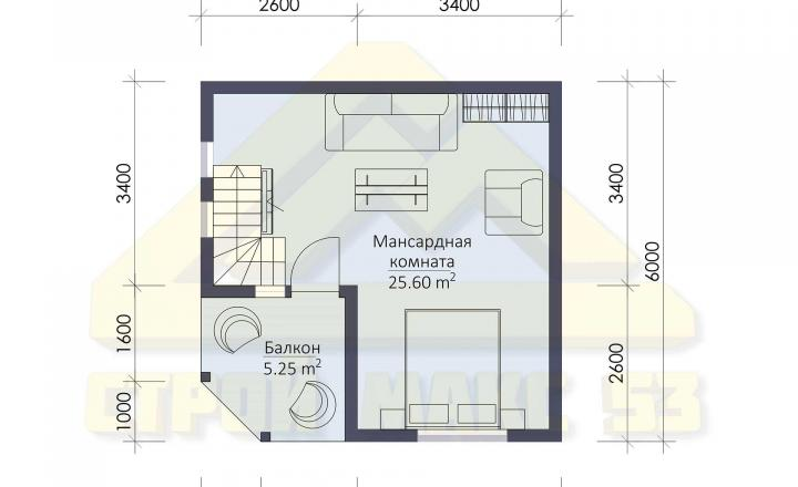 поэтажный план финского двухэтажного дома