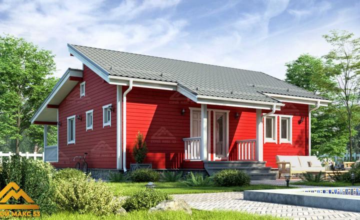 проект финского дома 10 на 12
