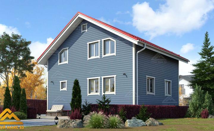 двухэтажный финский дом под ключ