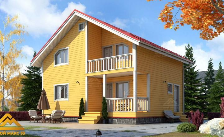 финский дом 7 на 9 под ключ