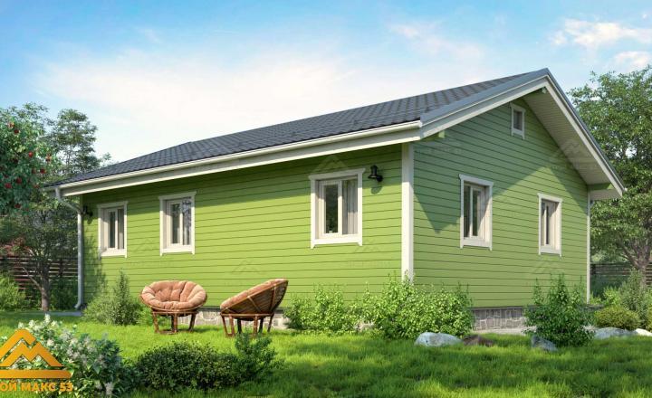 финский одноэтажный дом под ключ