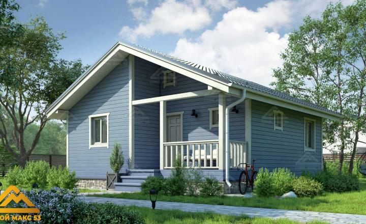 финский дом с сауной под ключ