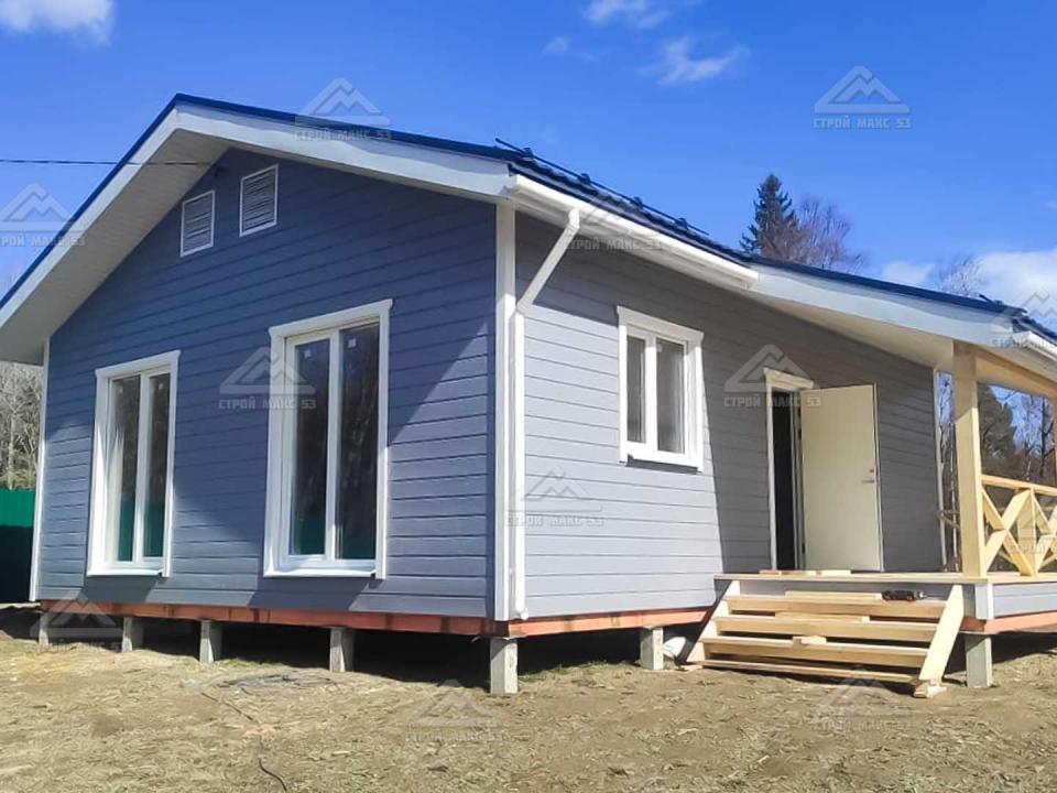 финский одноэтажный каркасный дом