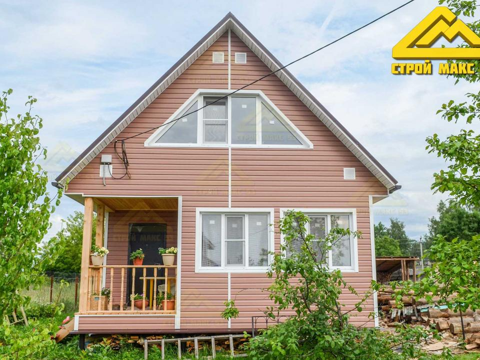 фото 1 каркасного дома по индивидуальному проекту