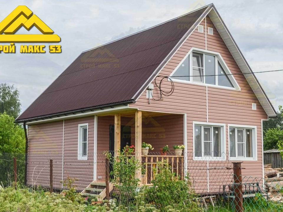 фото 2 каркасного дома по индивидуальному проекту