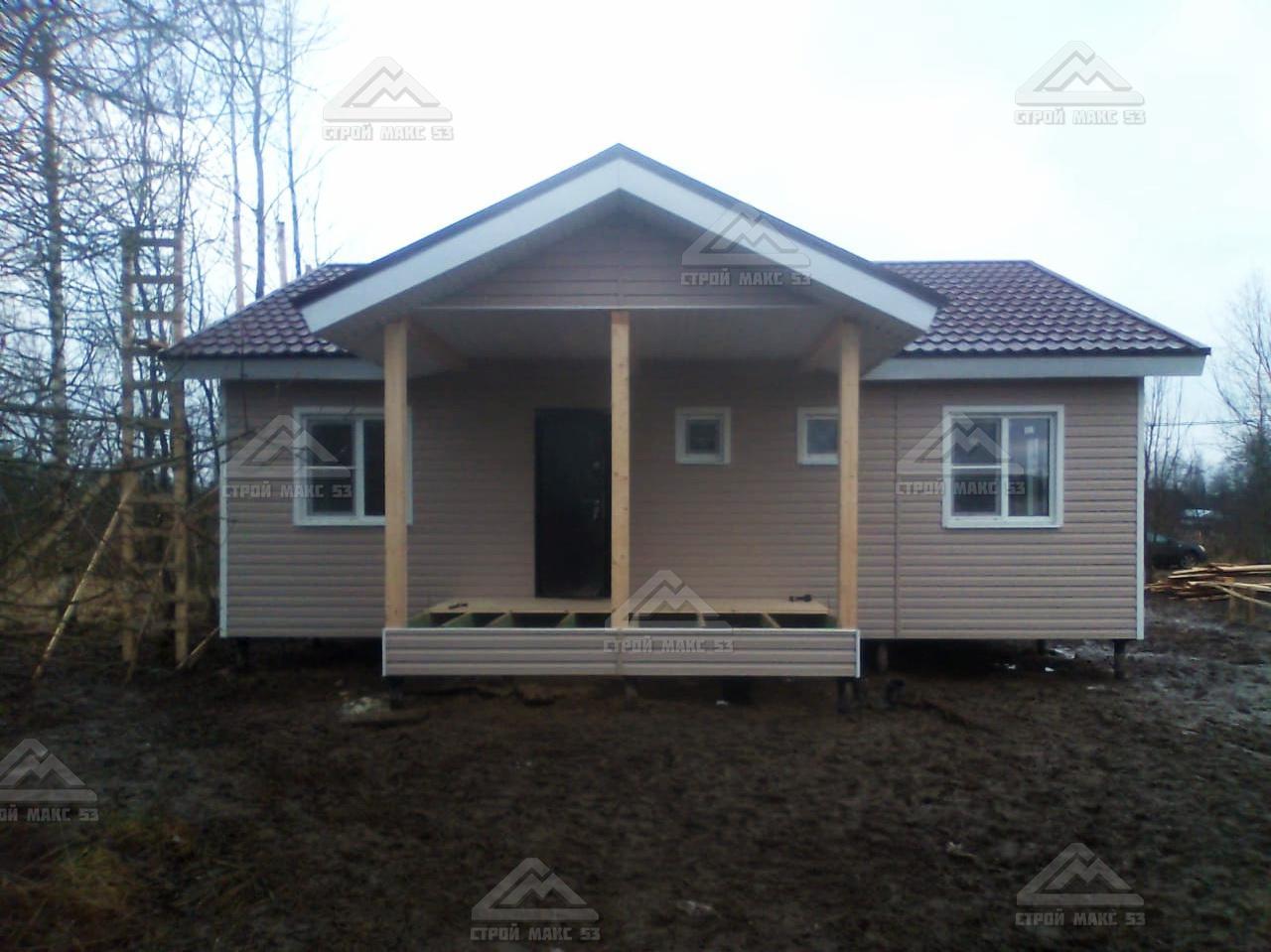 финский дом с крыльцос