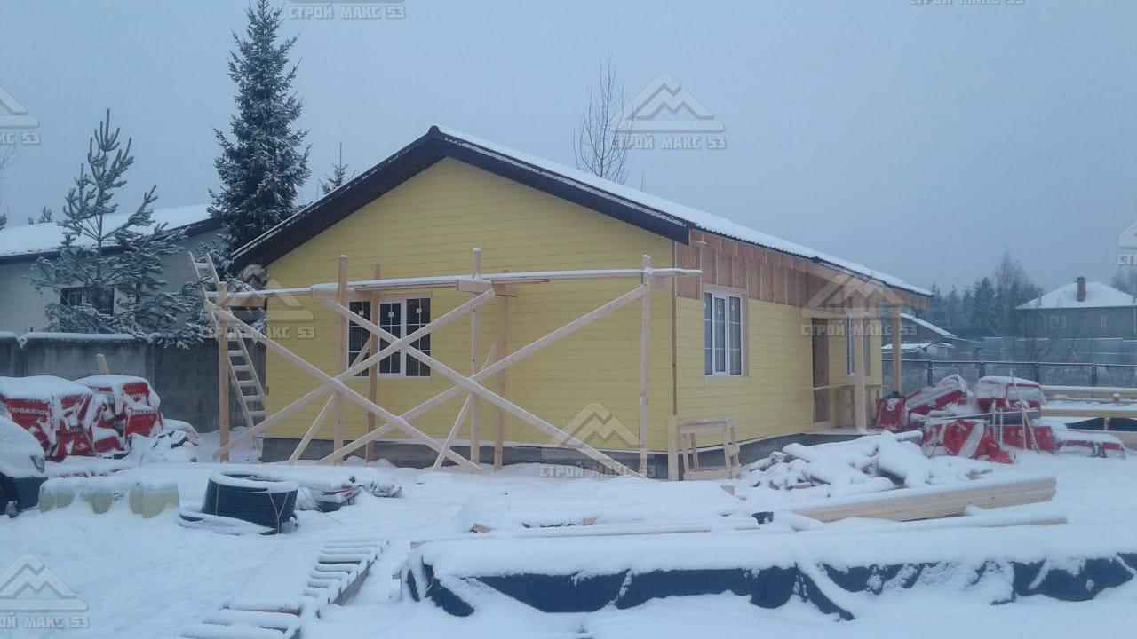 финский дом 13 на 7 м
