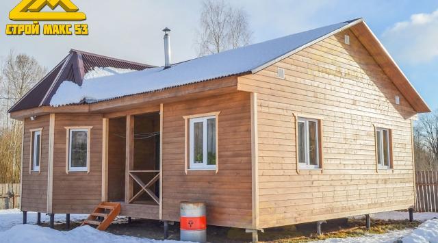 каркасный дом после восьми месяцев проживания