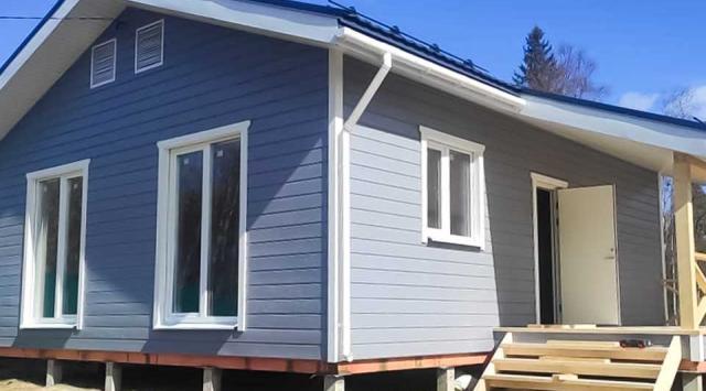 финский одноэтажный дом