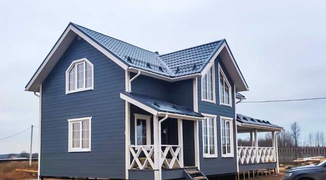 финский каркасный дом под ключ