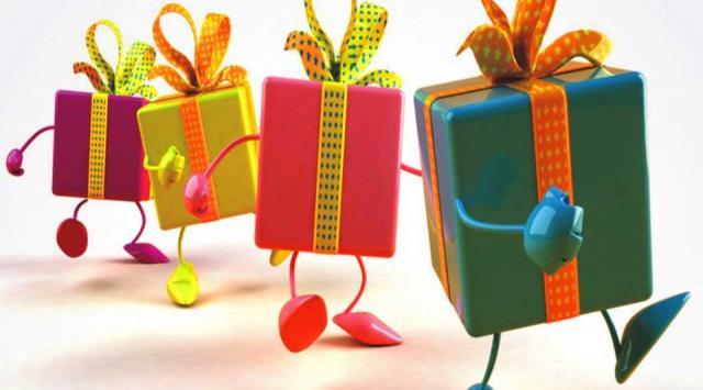 Подарки для наших клиентов